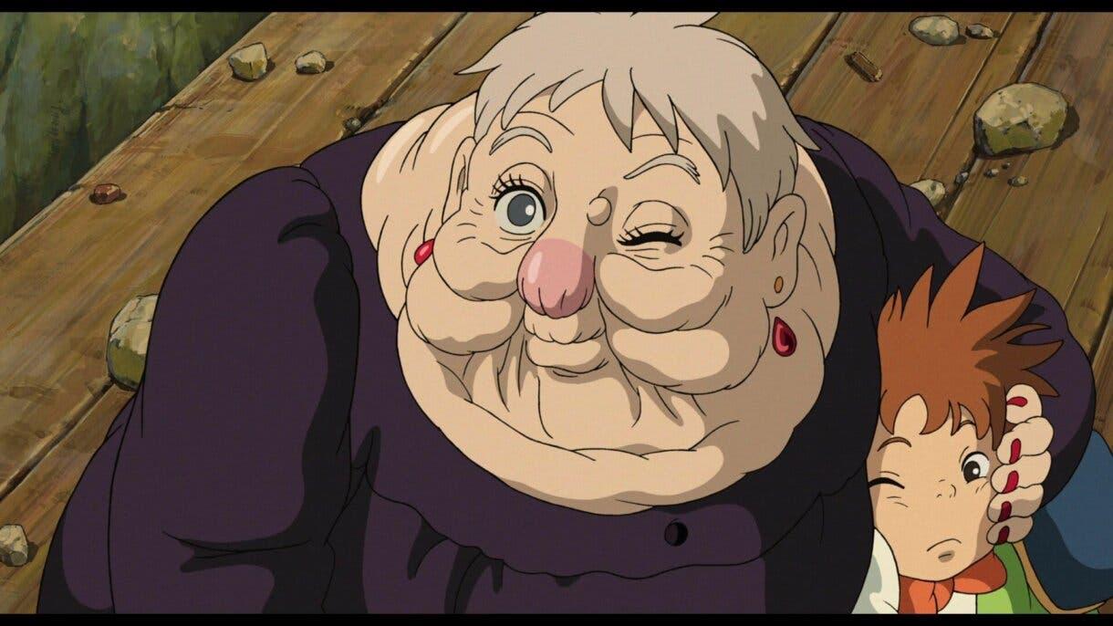 Bruja del Paramo Studio Ghibli