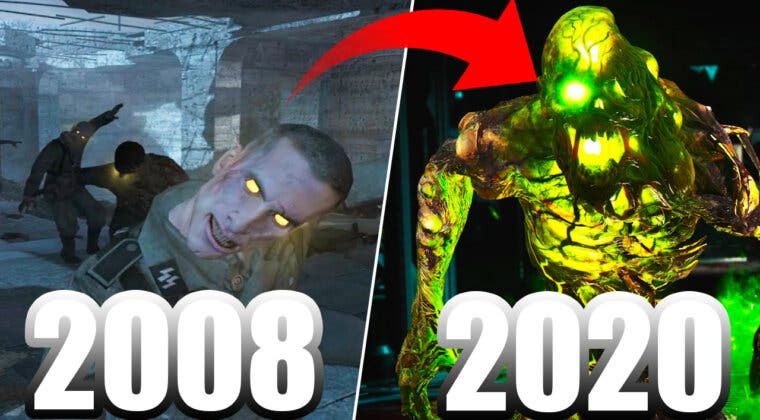 Imagen de Así es la increíble evolución en vídeo del modo Zombies en la saga Call of Duty