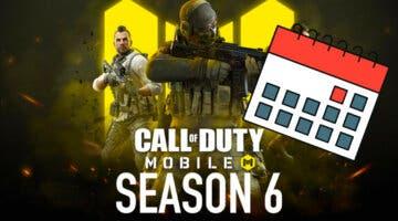Imagen de ¿Cuándo empieza la temporada 6 de Call of Duty Mobile?