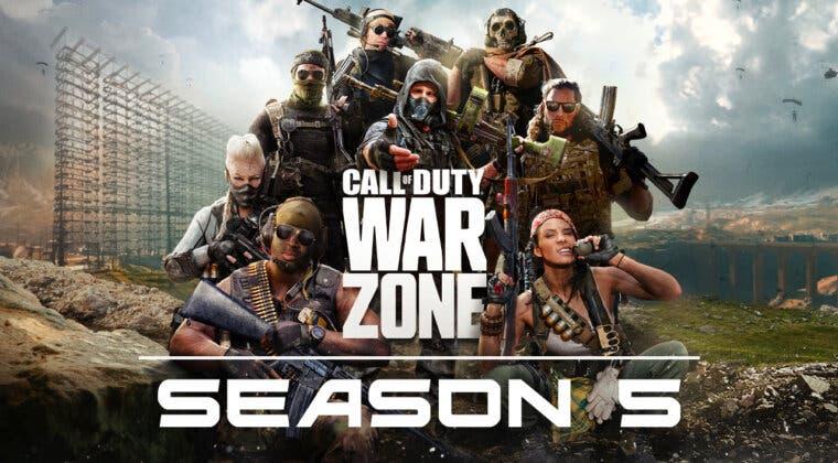 Imagen de ¿Cuándo empieza la temporada 5 de Call of Duty: Warzone?