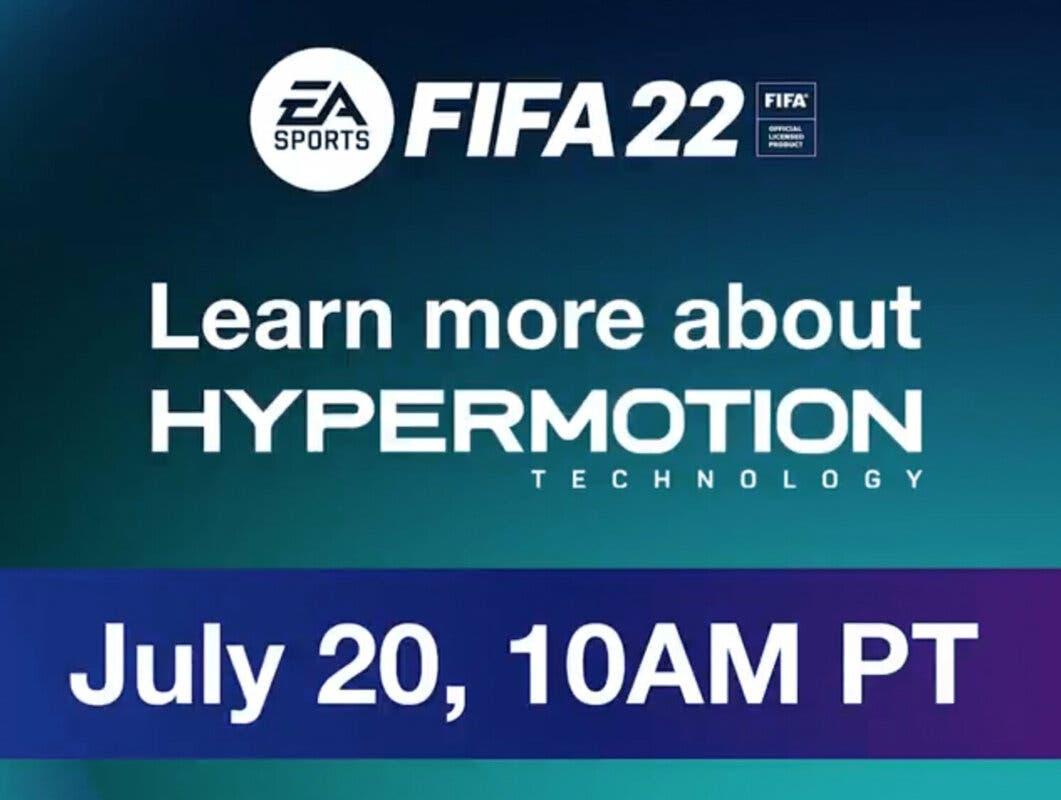 FIFA 22: EA muestra el primer gameplay real en este adelanto