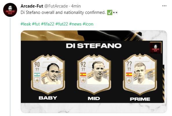 FIFA 22: Di Stéfano haría historia en Ultimate Team como el primer Icono con varias nacionalidades Ultimate Team filtración