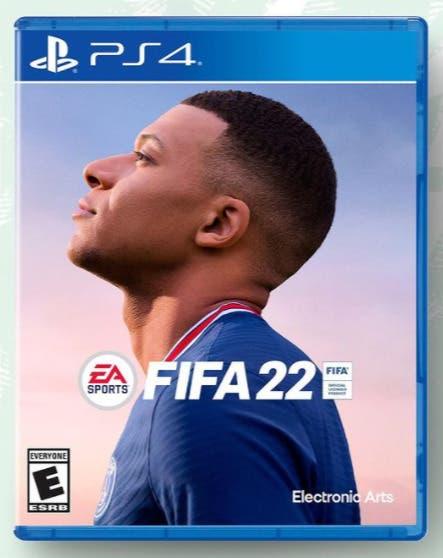 Esta es la portada oficial de FIFA 22. Kylian Mbappé. Edición estándar
