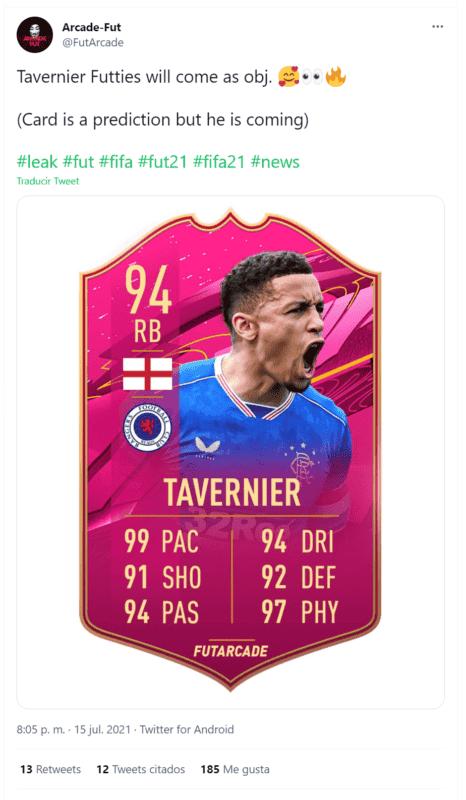 FIFA 21: este popular jugador protagonizaría la primera carta gratuita de FUTTIES según una filtración