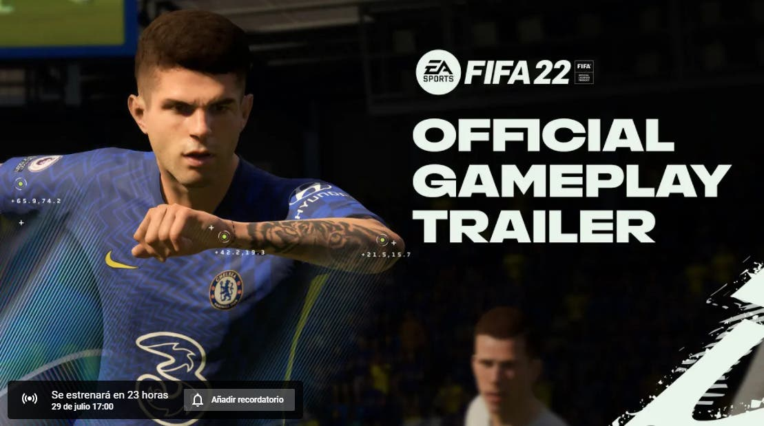 FIFA 22: fecha y hora en cada país del nuevo tráiler oficial centrado en el gameplay