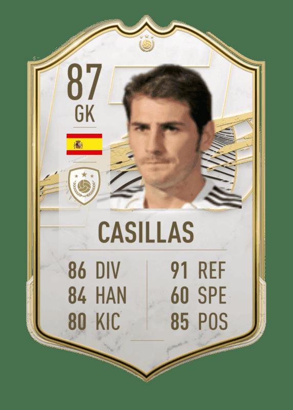 FIFA 22: Estas serían las stats in game de los nuevos Iconos revelados. Ultimate Team Íker Casillas Baby