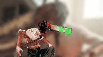 Imagen de Calienta motores para el anime de Chainsaw Man con este brutal cosplay