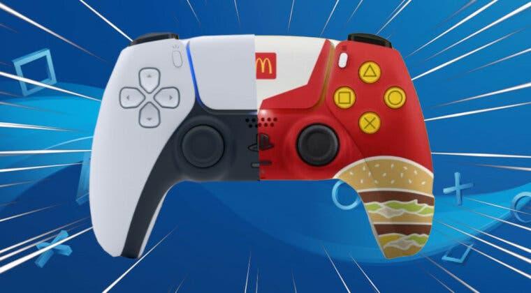 Imagen de Así es el curioso DualSense de PS5 que solo algunos afortunados conseguirán en McDonald's