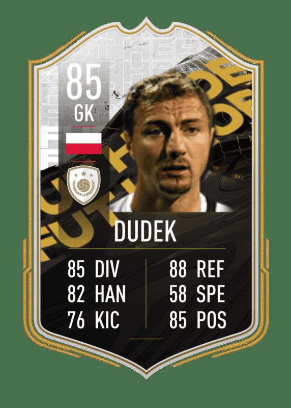FIFA 22: Estas serían las stats in game de los nuevos Iconos revelados. Ultimate Team Dudek