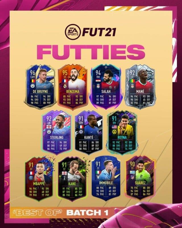 FIFA 21: todas estas cartas especiales vuelven a estar disponibles en sobres + Tavernier FUTTIES gratuito primer lote