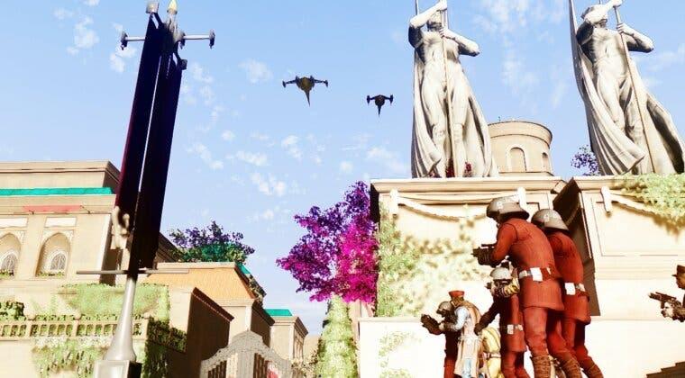 Imagen de Crean un mod de Fallout 76 para fusionarlo con el universo de Star Wars