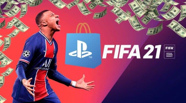 Imagen de Consigue FIFA 21 para PS4 y PS5 por menos de 10 euros con esta increíble oferta