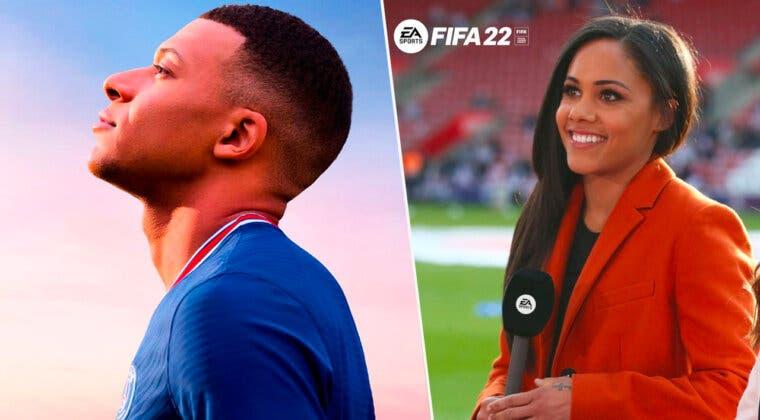 Imagen de FIFA 22 tendrá por primera vez en la historia una comentarista femenina en inglés