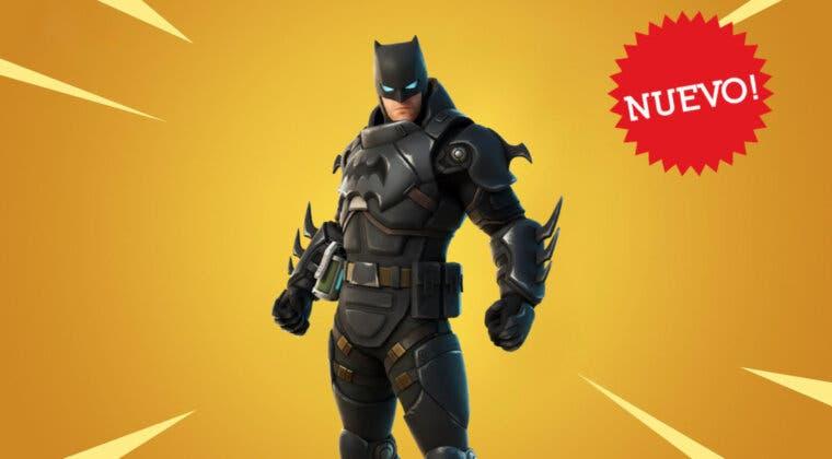 Imagen de Fortnite recibe la nueva skin de Batman Cero Blindado: precio, aspecto y complementos