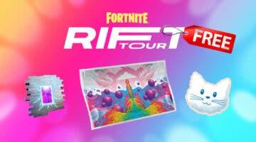 Imagen de Fortnite: cómo conseguir gratis todas las recompensas de Rift Tour y completar sus desafíos