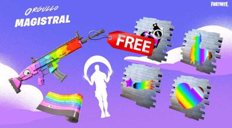 Imagen de Fortnite: cómo conseguir gratis los envoltorios, gestos y mucho más del evento Orgullo Magistral