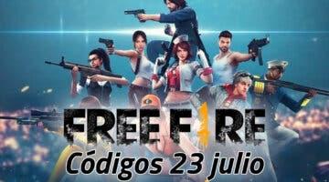 Imagen de Garena Free Fire: todos los códigos promocionales disponibles el 23 de julio