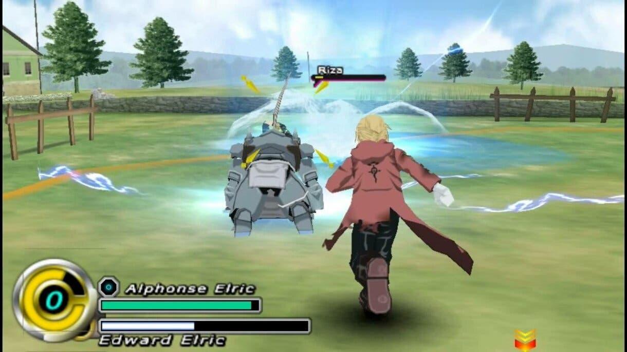Fullmetal Alchemist videojuego