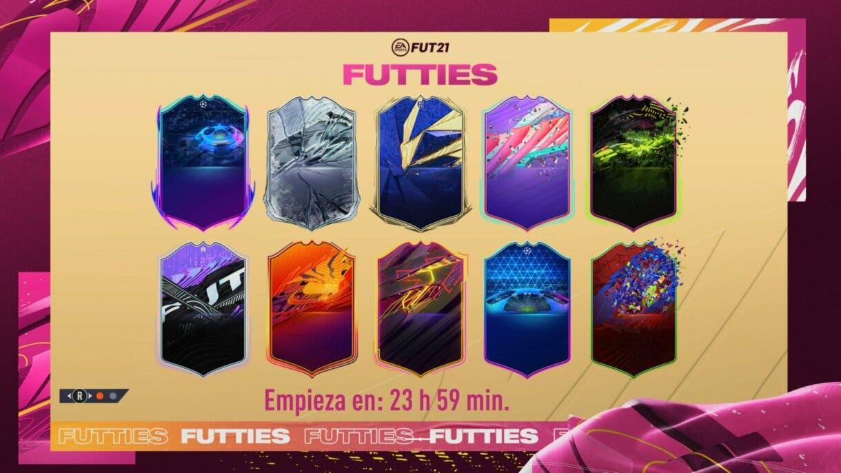 FIFA 21: versiones especiales antiguas regresarán a Ultimate Team durante FUTTIES pantalla de carga