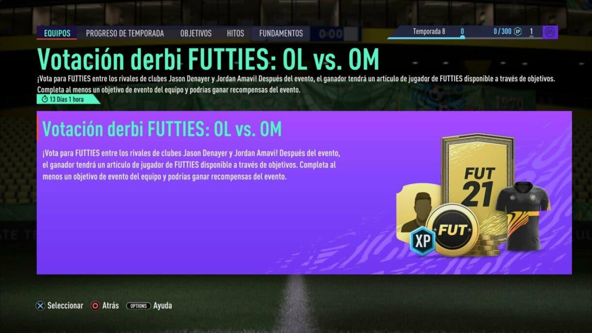 FIFA 21: así elegirá la comunidad al nuevo FUTTIES gratuito + Sobre free to play en objetivos Ultimate Team