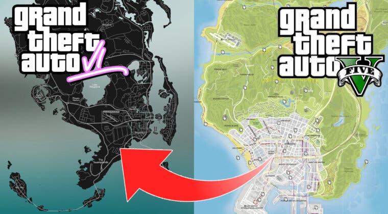 Imagen de GTA 6: Comparan el tamaño del mapa con Los Santos y este es el resultado