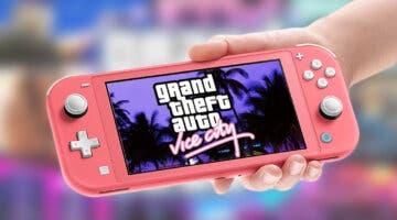 Imagen de GTA Vice City para Nintendo Switch es real gracias a un port hecho por fans