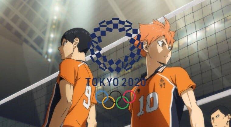Imagen de El anime también se cuela en los Juegos Olímpicos de Tokio de la mano de Haikyuu!!