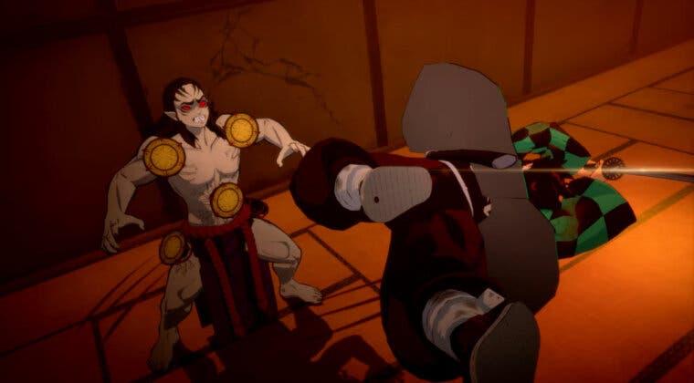 Imagen de Kimetsu no Yaiba - The Hinokami Chronicles muestra en un nuevo gameplay el arco de La Mansión Tambor