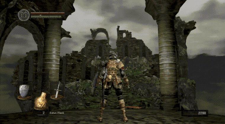 Imagen de ¿Cuánto tiempo podrías jugar sin marearte a este horrible mod de Dark Souls?