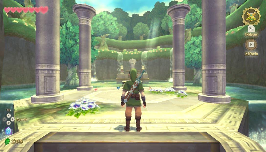 Vista general de The Legend of Zelda Skyward Sword HD