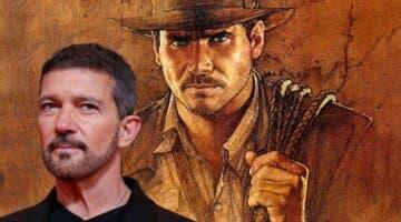 Imagen de Antonio Banderas se une al espectacular reparto de Indiana Jones 5
