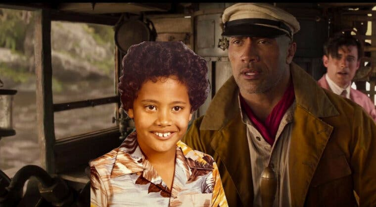 Imagen de El enorme cambio físico de Dwayne Johnson: de la infancia a Jungle Cruise