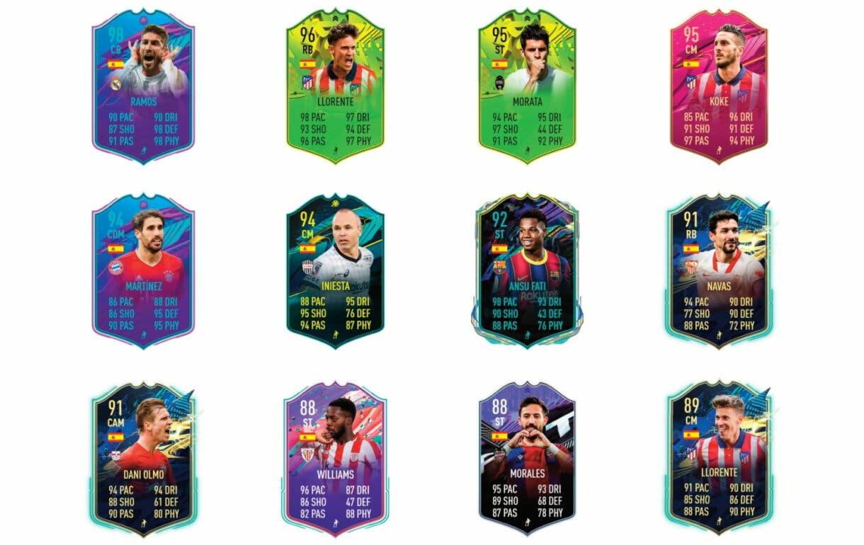 Links naranjas de Adama Traoré FUTTIES. FIFA 21 Ultimate Team
