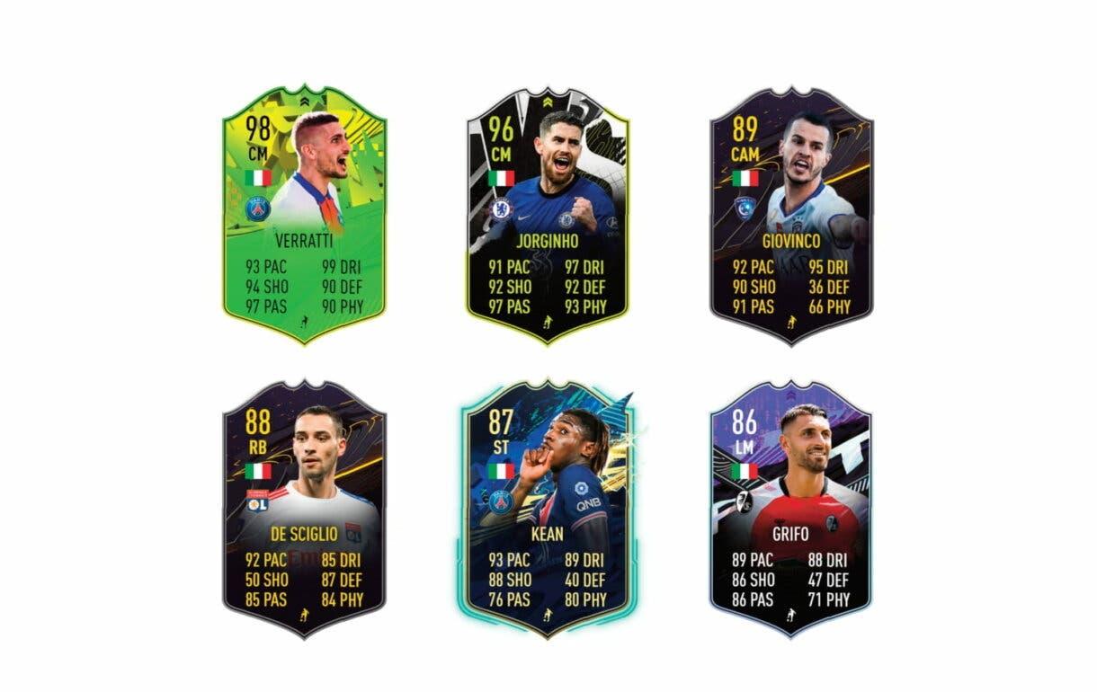Links naranjas de Bonucci Summer Stars. FIFA 21 Ultimate Team