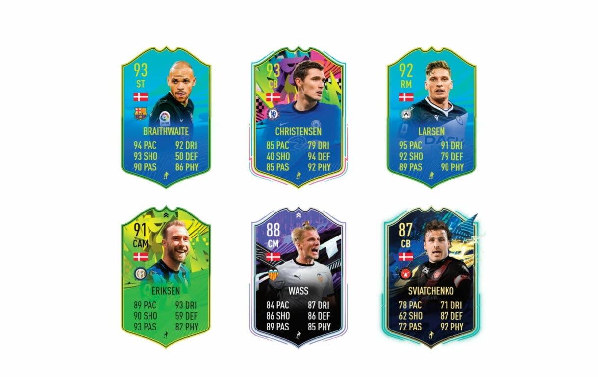 Links verdes de Delaney Jugador de Nación. FIFA 21 Ultimate Team
