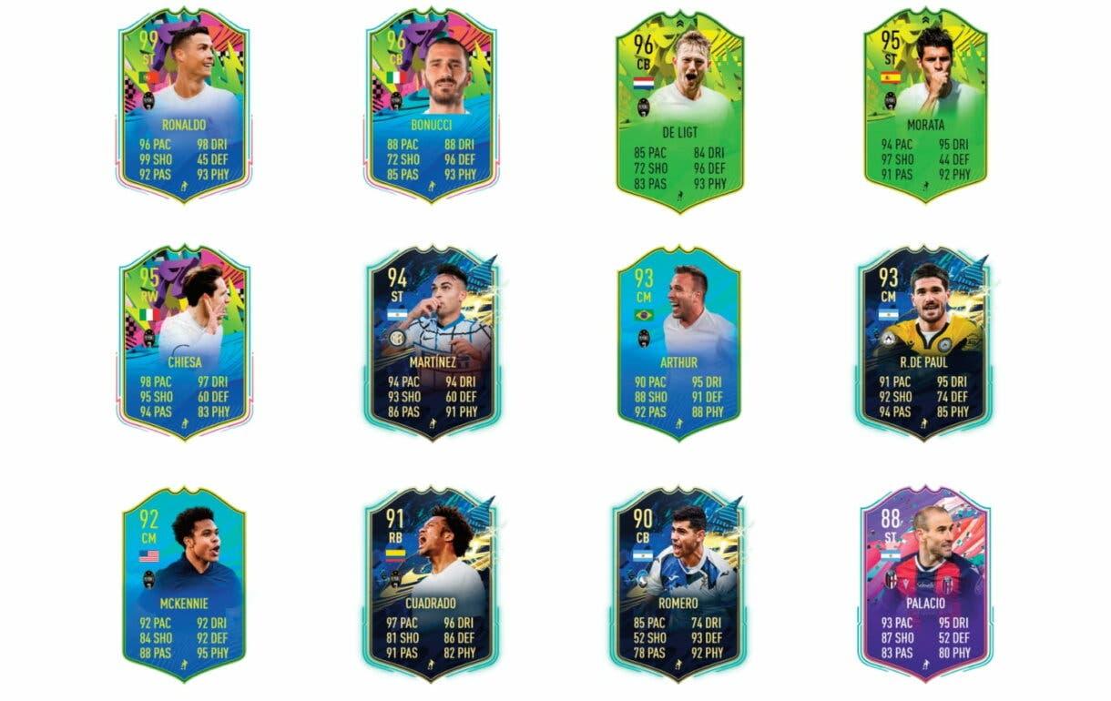Links verdes de Dybala FUTTIES. FIFA 21 Ultimate Team