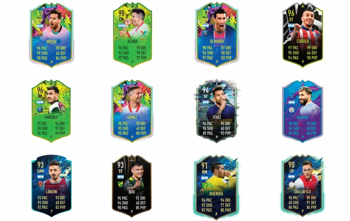 Links naranjas de Dybala FUTTIES. FIFA 21 Ultimate Team