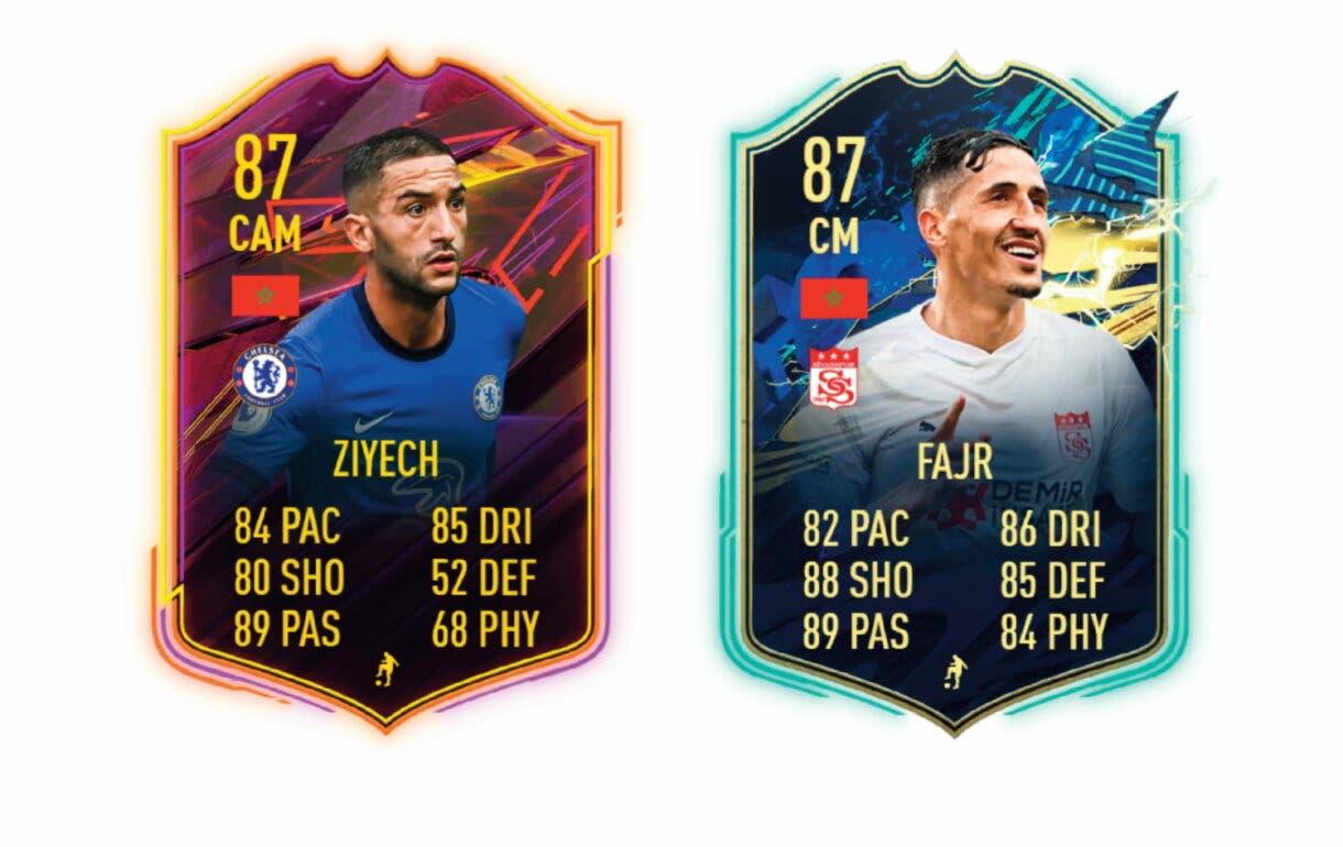 Links naranjas de Hakimi FUTTIES. FIFA 21 Ultimate Team