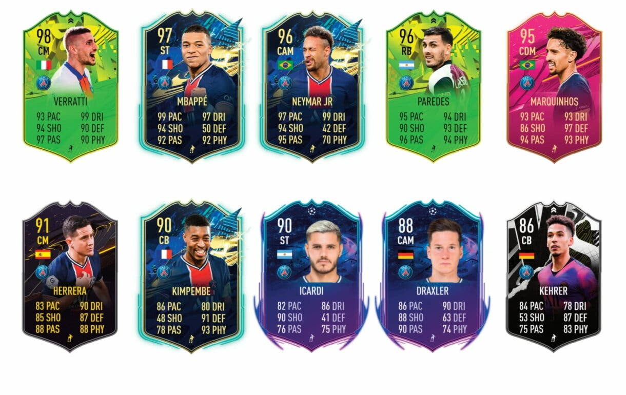 Links verdes de Hakimi FUTTIES. FIFA 21 Ultimate Team