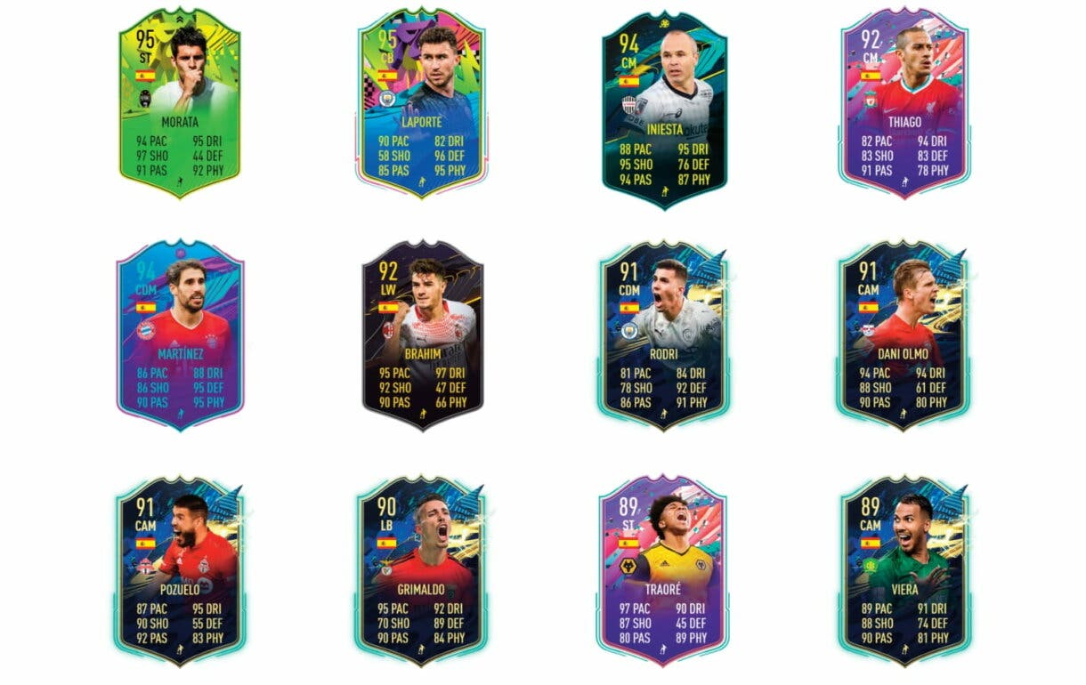 Links naranjas de Koke FUTTIES. FIFA 21 Ultimate Team