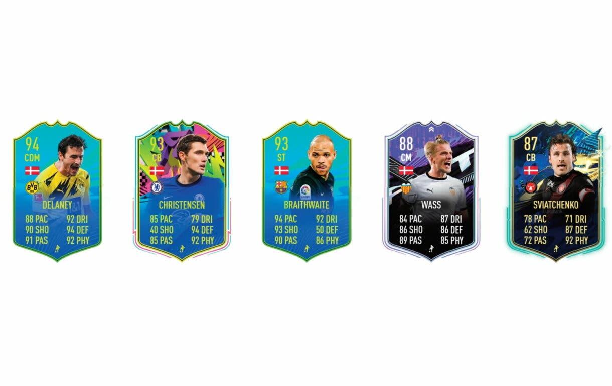 Links naranjas de Larsen Jugador de Nación. FIFA 21 Ultimate Team