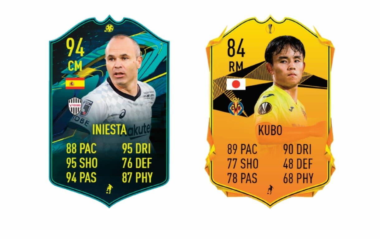 Links naranjas de Miura FUTTIES. FIFA 21 Ultimate Team