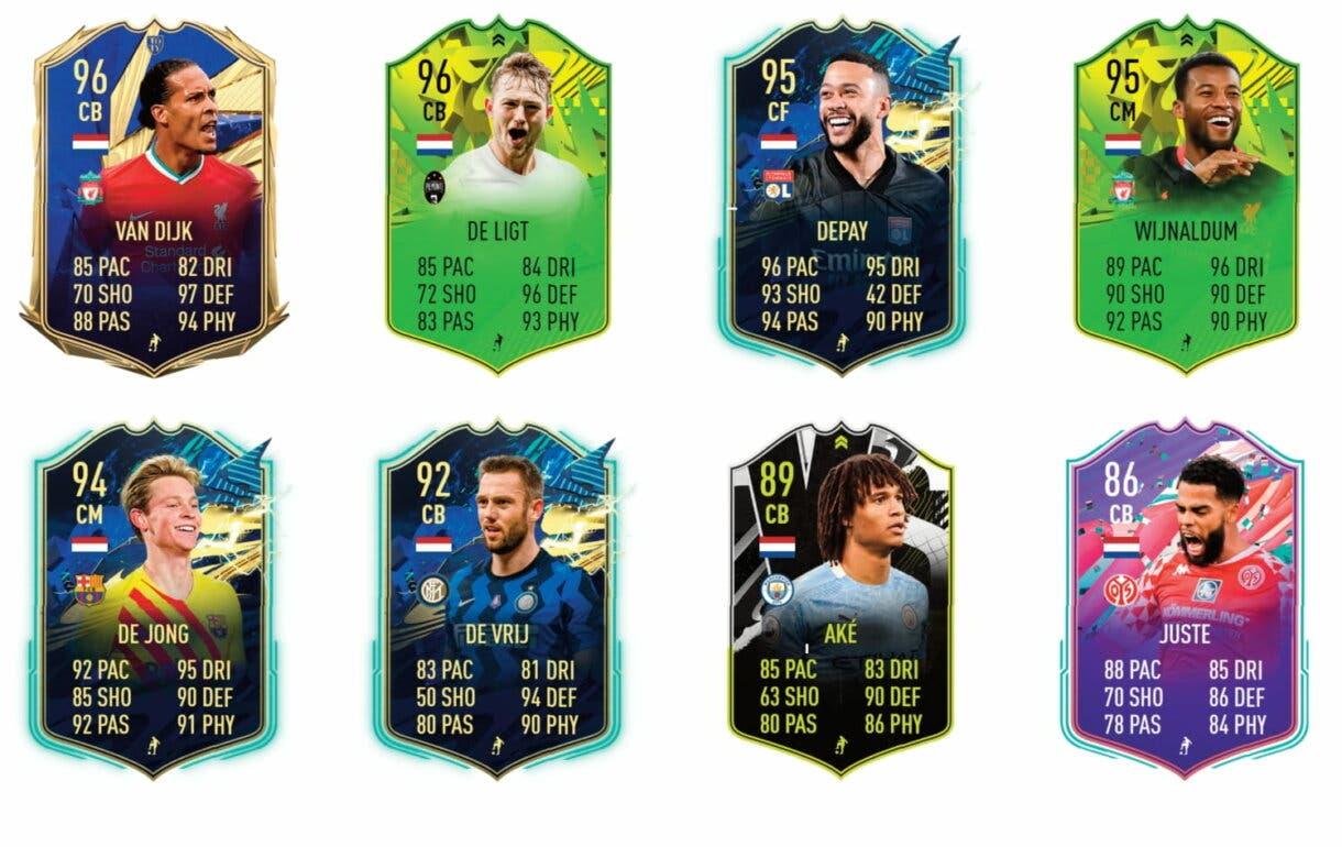 Links naranjas de Robben FUTTIES. FIFA 21 Ultimate Team