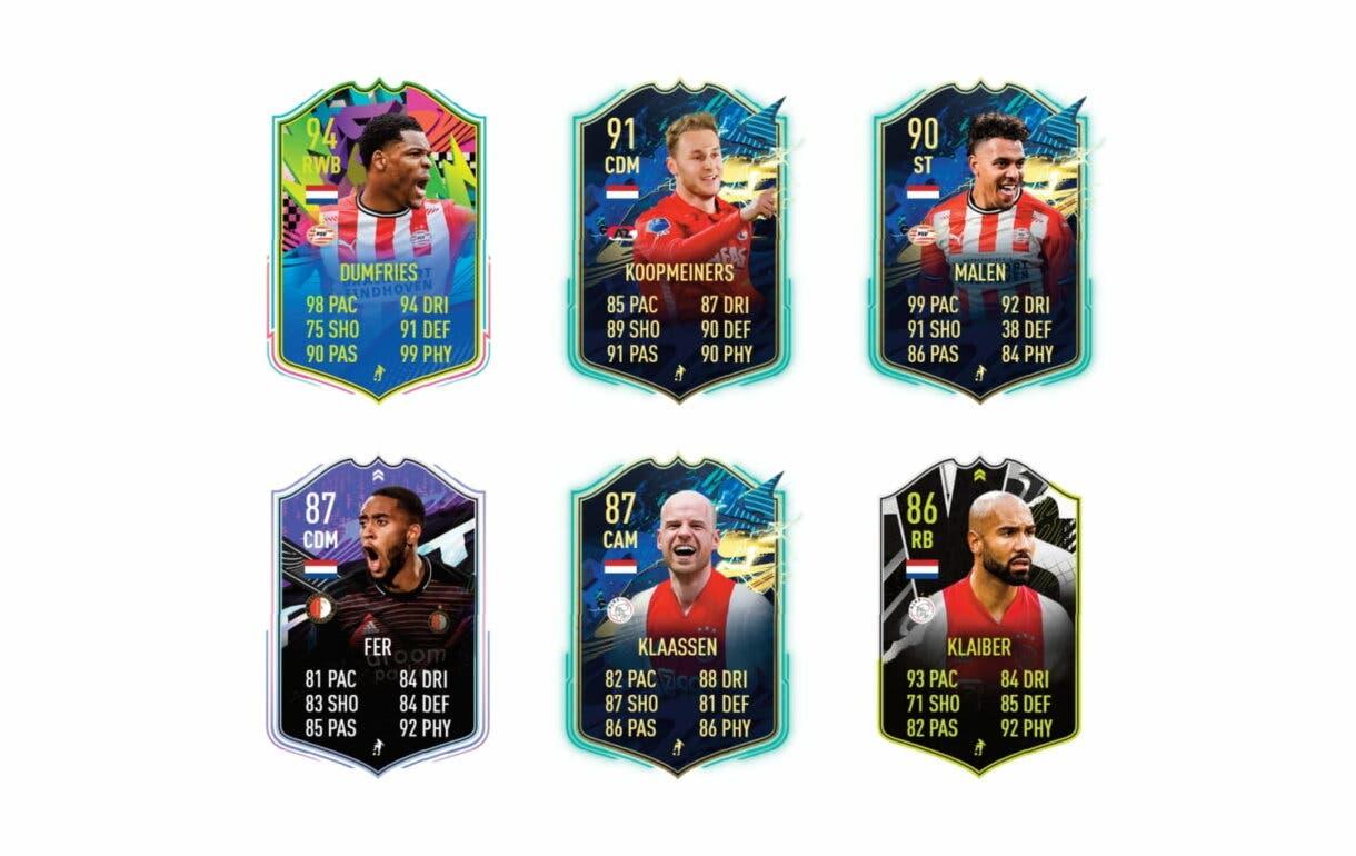 Links verdes de Robben FUTTIES. FIFA 21 Ultimate Team
