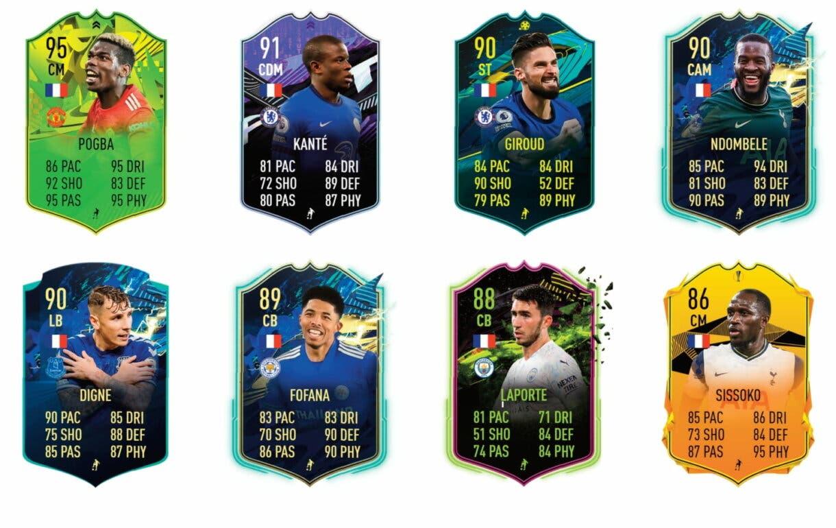 Links verdes de Saint-Maximin FUTTIES. FIFA 21 Ultimate Team