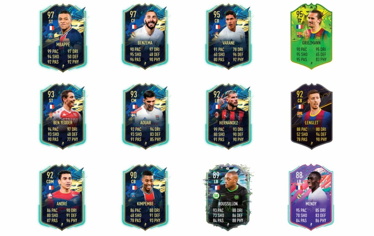 Links naranjas de Saint-Maximin FUTTIES. FIFA 21 Ultimate Team