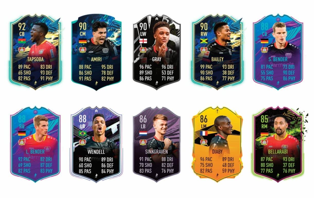 Links verdes de Schick Summer Stars. FIFA 21 Ultimate Team
