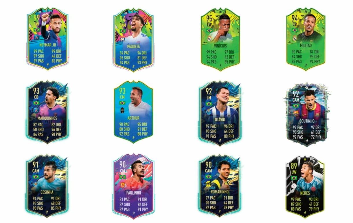 Corbatas naranjas de Such FUTTIES.  FIFA 21 Ultimate Team
