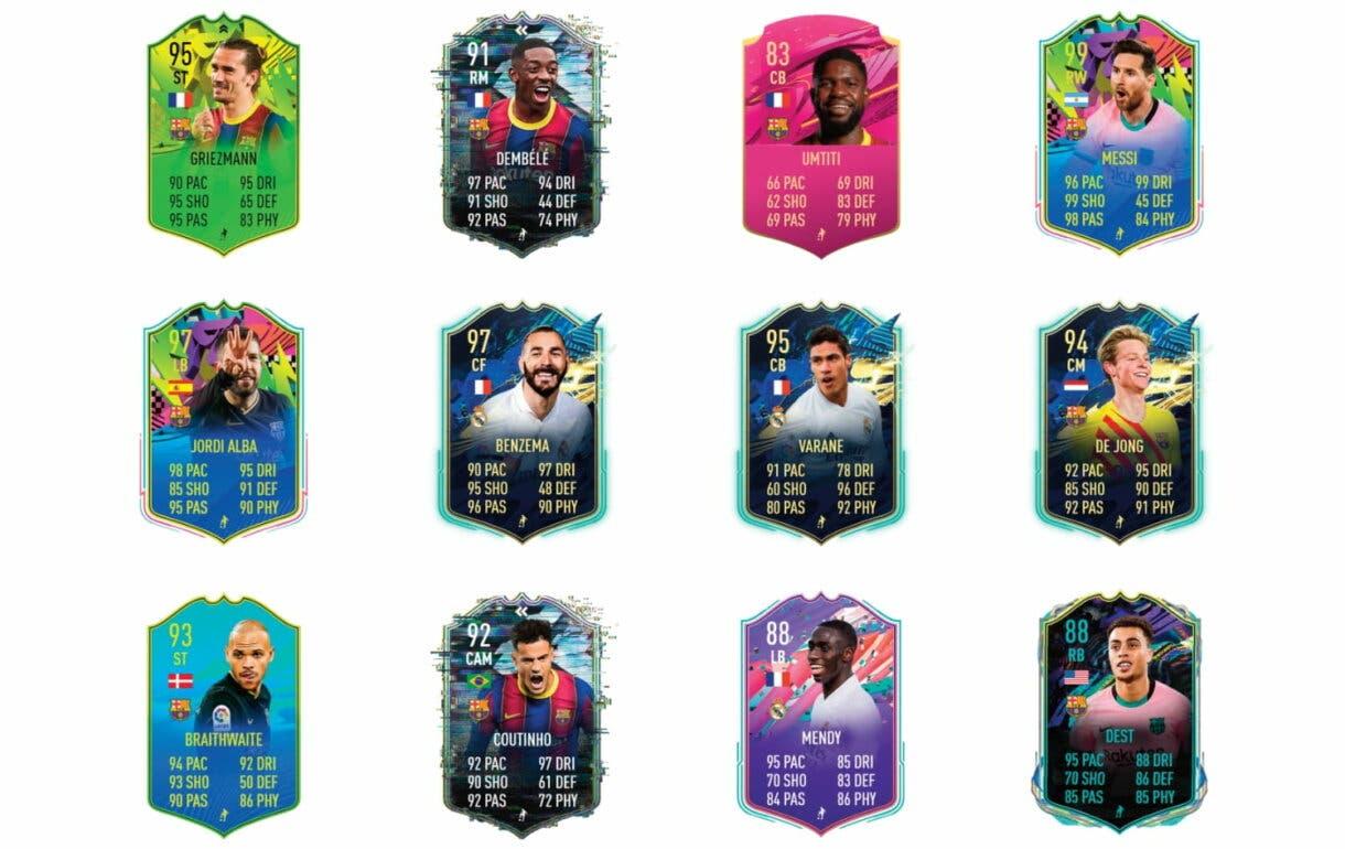 FIFA 21 Ultimate Team Recompensas Temporada 7 Lenglet Trasfondo links verdes