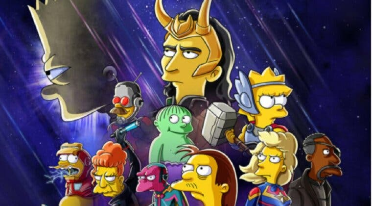 Imagen de Los Simpson y Loki se unen en este corto que llegará a Disney Plus el 7 de julio